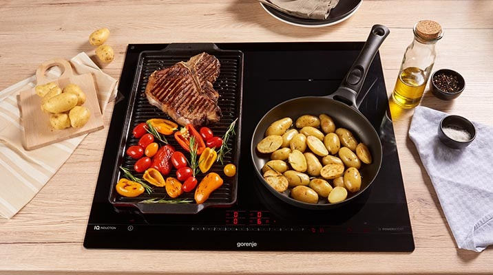 Gorenje OmniFlex induction hobs in tune with your cooking style